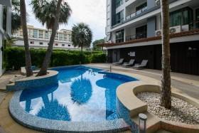 Studio Condo For Rent In Central Pattaya - The Urban