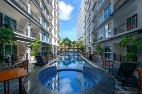 Studio Condo For Rent In Central Pattaya - The Avenue Residence