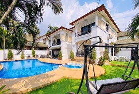 6 Bed House For Rent In East Pattaya - Central Park 4/2